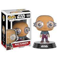 Funko Star Wars Force Awakens POP Maz Kanata Bobble Head Vinyl Figure NEW Toys