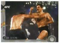 2015 Topps UFC Chronicles Silver Parallel #3 Dan Severn