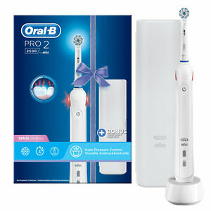 Oral-B Pro 22500 Spazzolino Elettrico Ricaricabile con Testina Sensi Ultrathin