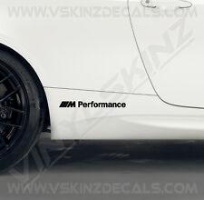 BMW M Performance Logo Premium Auto Seite Abziehbilder Aufkleber Kit M3 Alpina