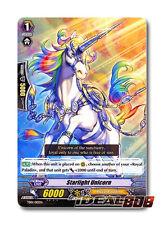 Cardfight Vanguard  x 4 Starlight Unicorn - TD01/010EN - TD (common ver.) Mint