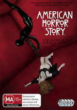American Horror Story : Season 1 (DVD, 2012, 4-Disc Set)  R4..NEW & SEALED D3292