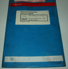 Werkstatthandbuch VW Sharan I Diesel Direkteinspritzanlage Vorglühanlage ab 1996