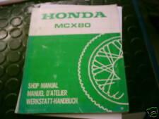 HONDA MCX 80 atelier Manuel de réparation Instructions