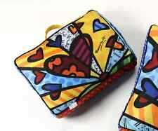 AUTHENTIC ROMERO BRITTO PILLOW / PET BED / DOG BED / TV PILLOW