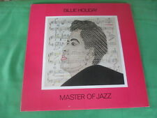 Billie  Holiday Lp - Master Of Jazz