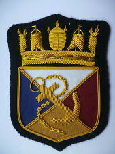 P+O MERCHANT SHIPPING LINE BLAZER BADGE.