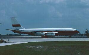 original aircraft slide01 Dia Boeing 707 ex Laker Airways N600JJ