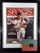 Ted Williams Autographed Signed 1955 Matted & Framed Sports Illustrated UDA