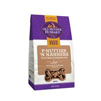 Old Mother Hubbard P-Nuttier 'N Nanners Grain Free Oven Baked Mini Dog Treats, &