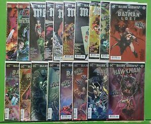 Dark Nights Metal #1-6 + Tie-Ins Foil Complete Run Lot Snyder Capullo DC NM