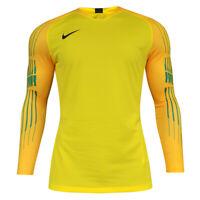 Men's Nike Dri-Fit Breathe Yellow Football Training Shirt Jersey Top Size XXL /