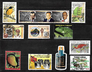 Trinidad & Tobago .. A good stamp collection .. 4459