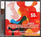 FESTIVALBAR 2007 Blu CD DOPPIO **SIGILLATO**
