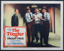 THE TINGLER WILLIAM CASTLE HORROR ELECTRIC CHAIR SCENE1959 LOBBY CARD #8