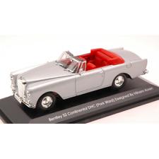 BENTLEY S2 CONTINENTAL 1960 SILVER 1:43 Yat Ming Auto Stradali Die Cast