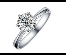 Ladies Women Diamond finger ring (L)imitation jewlery,Uk Seller,BUY 3 GET 1 FREE