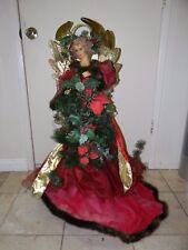 "Gorgeous Floor Standing Xmas Angel Figure Christmas Home Decor 36"""