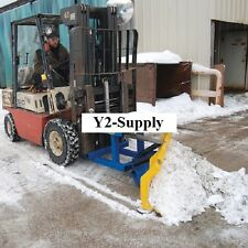 "New! Fork Truck Snow Plow - 72"" Wide Blade!"