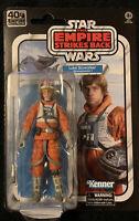 """Star Wars Empire Strikes Back 40th Anniversary 6"""" Luke Skywalker Snowspeeder NEW"""