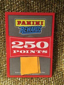 250 Panini Rewards Points Unused