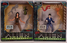 ALIEN RESURRECTION : RIPLEY & CALL ACTION FIGURES MADE BY KENNER / HASBRO