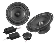 """HELIX F 62C 6.5"""" 16.5cm 2 way component car speakers 60w RMS"""