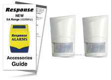 Response Alarms Wirefree PIR Detector SAP E 433MHz TWIN PACK (SA GUIDE INCLUDED)