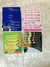 """""""Four (4) Assorted packs of 10each pack..."""" Pass it Along Cards NEW 40 pcs 3x2"""""""