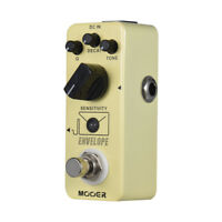 MOOER ENVELOPE Analog Auto Wah Guitar Effect Pedal True Bypass Full Metal O6B7