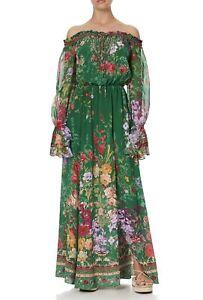 Camilla Diaries From A Villa Drop Shoulder Split Dress RRP $899