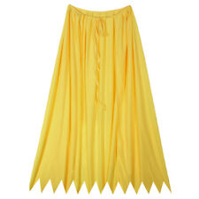 "32"" Yellow Cape ~ HALLOWEEN SUPERHERO, RENAISSANCE, COSTUME PARTY SAWTOOTH CAPE"