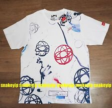 Futura 2000 x UNIQLO UT abstract expressionis artist White Tee T-Shirt size L