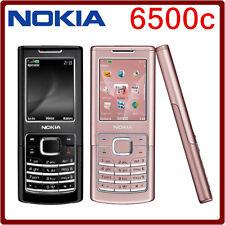 2017 ORIGINAL Nokia 6500c Black 100% UNLOCKED GSM 6500 C Cellphone WARRANTY FREE