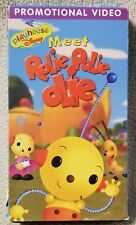 MEET ROLIE POLIE OLIE Promo Video VHS Tape Playhouse Disney 2000 Nelvana GUC
