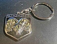 Dodge Schlüsselanhänger Logo Ram - Maße Emblem 35x37mm