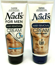 (2) Nad's For Men Hair Removal Cream New & Sealed 6.8 fl oz EACH