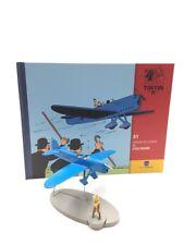 En Avion Tintin l'avion de course de l'ile noire  N31 + livret