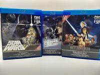 star wars six disc box set holy Trinity despecialized blu ray trilogy empire