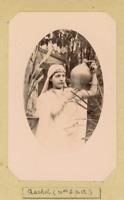 Scène de genre, Rachel Vintage silver Print Tirage argentique  6x8  Circa