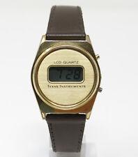 Orologio Texas Instruments lcd quartz watch digital vintage clock reloy montre