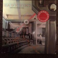 HAWKWIND, Quark Strangeness & Charm - German LP *OBSCURE REISSUE LATE '70s* (Fi)