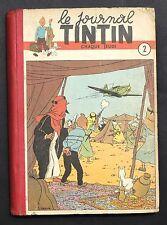 TINTIN album éditeur n°2 (n°18 à 34 de 1949). Edition française.