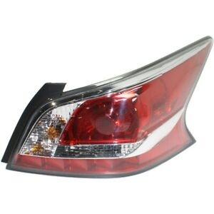 Tail Light For 2014-2015 Nissan Altima Halogen Standard Type Right