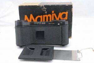 Mint Mamiya 6x9 120/220 Roll Film Back Holder for Universal Press Super 23 *Y104