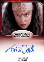 Star Trek Aliens Tricia O'Neil as Kurak Autograph Card