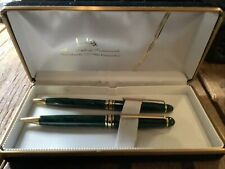 Lodis Executive Writing Instruments Pen Pencil Emerald Green NOS