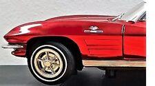 1 Corvette Chevy Sport Car 43 Vintage 18 Race 24 Carousel Red 12 1964 1965 1966