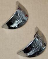 Harley original Blinkerschirme Eagle Wing Turnsignal Visors FL Pan Shovelhead