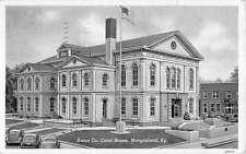 Morganfield Kentucky Union Co Court House Exterior Antique Postcard K13741